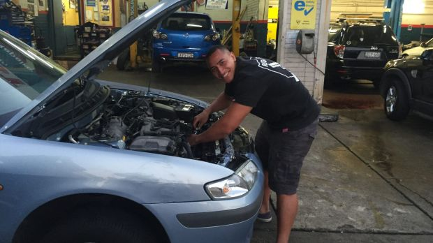 Sydney Roosters star moonlights as mechanic